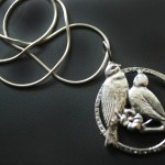 Love Birds & Blossom | Silver Botanica Jewelry