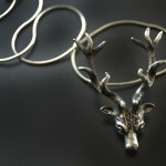 Deer Necklace | Silver Botanica Jewelry