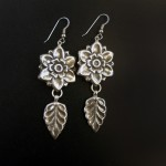 Vintage-blossom-earrings-silverbotanica