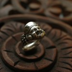 Buddha & Lotus Ring | Silver Botanica Jewelry