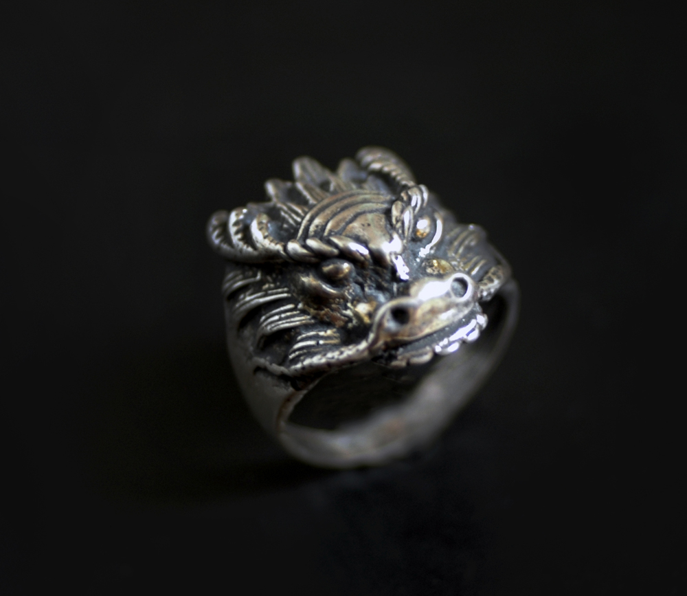 ring in sterling silver silverbotanica