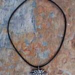 Lotus Necklace | Silver Botanica Jewelry