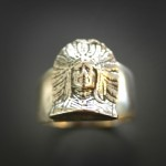 Indian Chief Ring | Silver Botanica Jewelry