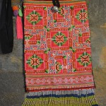 Grid-Flower-Hmong-Purse-SilverBotanica-Front