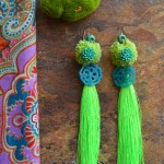 Lime-teal-tassles silverbotanical