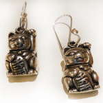 Fortune-Kitty-Earrings-Silverbotanica
