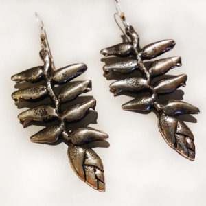 Heliconia-Earrings-SilverBotanica