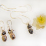 Pineapple-Necklace-SilverBotanica