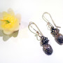Pineapple-earrings-front-SilverBotanica-2